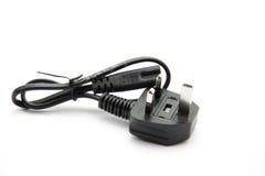 Cable imprimante avec l'adaptateur Photographie stock libre de droits