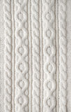 Cable Knit Fabric Background Royalty Free Stock Photography