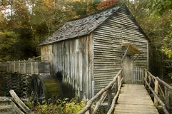 Free Cable Mill, Cades Cove Stock Photography - 6950602
