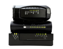 Free Cable Modem Stock Photography - 1860182