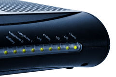 Cable Modem Royalty Free Stock Photo