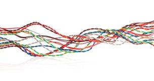 Cable multicolor Imagen de archivo libre de regalías