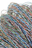 Cable network, data transmission Stock Photo