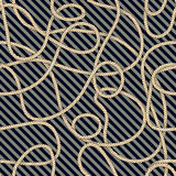 Cable pattern Royalty Free Stock Photography