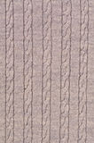 Cable Pattern. Of a pullover as closeup Stock Image