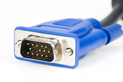 Cable with plug-in Royalty Free Stock Images