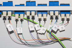 Cable plugs Stock Photo