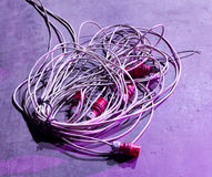 Cable power Royalty Free Stock Photography