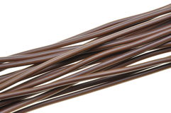 Cable for power supply Royalty Free Stock Photo