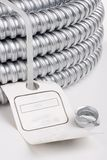 Cable protection conduit Royalty Free Stock Photography