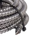 Cable protection conduit Stock Photo