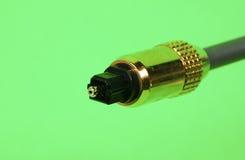 Cable óptico Foto de archivo libre de regalías