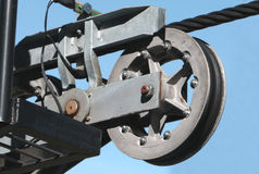 Cable Pulley Stock Photos