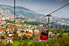 Cable railway Royalty Free Stock Photography