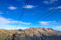 Cable Railway royalty free stock photo