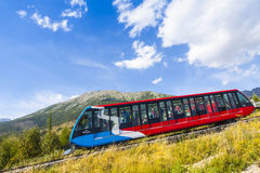 Cable railway in High Tatras, Slovakia Stock Images