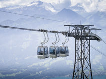 Cable railway Royalty Free Stock Image