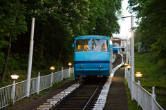 Cable railway in Kyiv, Ukraine Stock Photography