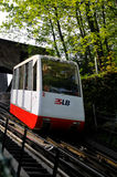Cable Railway To The Hohensalzburg Fortress Royalty Free Stock Photo