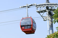 Cable railway in Wroclaw Royalty Free Stock Photography