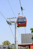 Cable railway in Wroclaw Royalty Free Stock Images