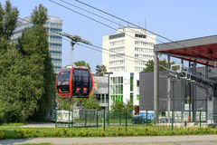 Cable railway in Wroclaw Stock Photos