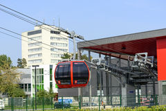 Cable railway in Wroclaw Stock Photo