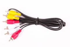 Cable receiver. On white background close up Royalty Free Stock Photos