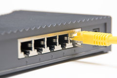 Cable router Stock Photo