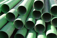 Cable-Routing Pipework. Construction Industry Pipework, suitable for background or abstract stock image