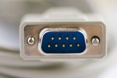 Cable RS-232 Fotografía de archivo libre de regalías