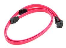 Cable Serial-ATA Fotografía de archivo libre de regalías