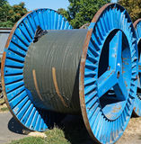Cable spool Stock Image