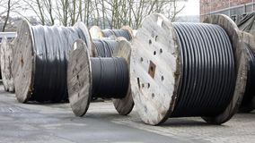 Cable Spools Stock Images