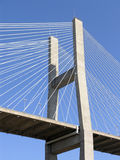 Cable Stay Bridge Stock Images