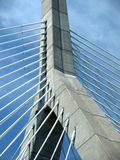 Cable Stay Bridge Tower Stock Photography