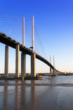 Kent Essex Uk dartfrord crossing Stock Images