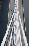 Cable stayed bridge Stock Images