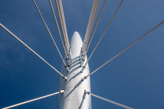 Cable stayed bridge Stock Photography