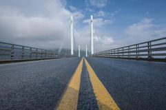 Cable stayed bridge Stock Photos