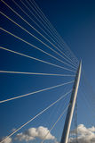 Cable stayed bridge Royalty Free Stock Photos