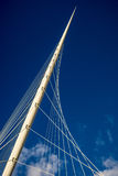 Cable stayed bridge Stock Photo