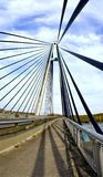 Cable-stayed bridge Royalty Free Stock Image