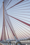 The cable-stayed bridge, Talavera Stock Photography