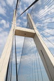 Cable-stayed bridge. The Cable-stayed bridge is very grand Royalty Free Stock Photography