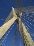 Cable-stayed bridge in the world Royalty Free Stock Image