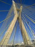 Cable-stayed bridge in the world Royalty Free Stock Photo