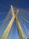 Cable-stayed bridge in the world royalty free stock photos