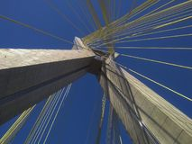 Cable-stayed bridge in the world Stock Photo