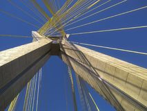 Cable-stayed bridge in the world Stock Photography